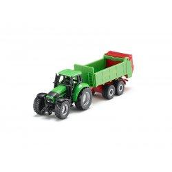 Siku Super: Seria 16 - Traktor z rozrzutnikiem obornika 1673