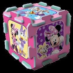 Układanka-puzzlopianka Mata - Minnie
