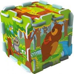Układanka-puzzlopianka Mata - Forest/Las