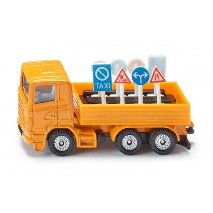 Siku Super: Seria 13 - Ciężarówka służby drogowej 1322