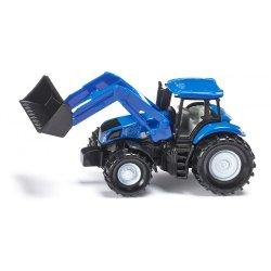 Siku Super: Seria 13 - Traktor New Holland z przednią ładowarką 1355