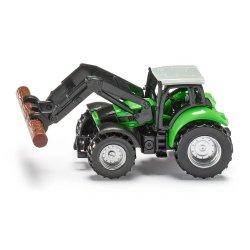 Siku Super: Seria 13 - Traktor ze szczypcami do drewna 1380