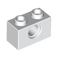 3700 Technic Brick 1x2, Ø4.9