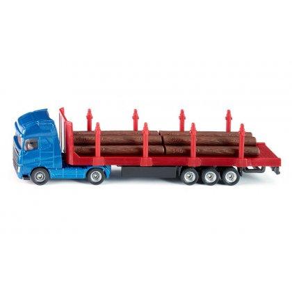 Siku Super: Seria 16 -Samochód ciężarowy do transportu drewna 1659