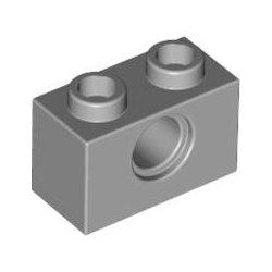 LEGO 3700 Technic Brick 1x2, Ø4.9