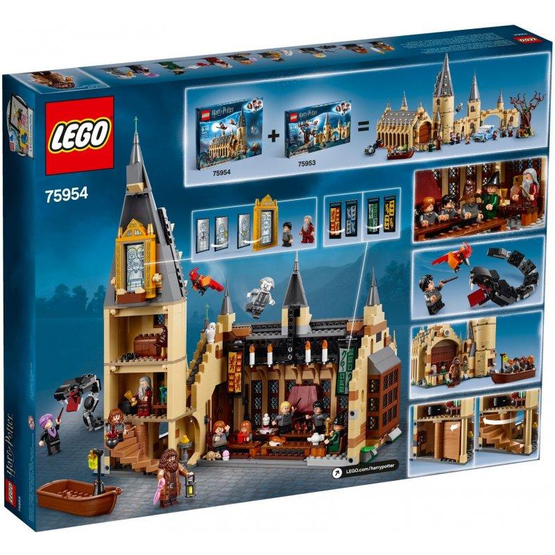 Klocki LEGO Harry Potter 75954 Wielka Sala w Hogwarcie