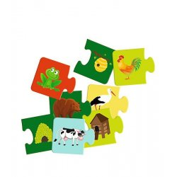 Zwierzęta - Mały odkrywca, Gra puzzlowa