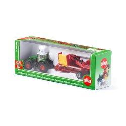 Siku Farmer: Seria 18 - Traktor z kombajnem do ziemniaków 1808
