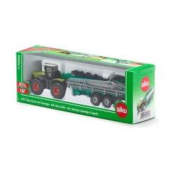Siku Super: Seria 18 - Traktor Claas Xerion z cysterną 1827