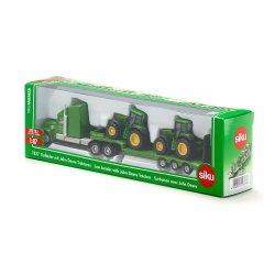 Siku Farmer: Seria 18 - Ciężarówka z naczepą + 2 traktory 1837