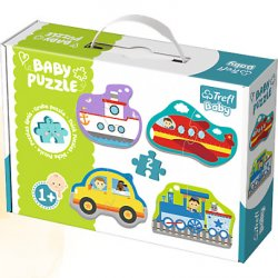Puzzle Baby Classic - Pojazdy - transport