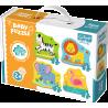 Puzzle Baby Classic - Zwierzątka na safari