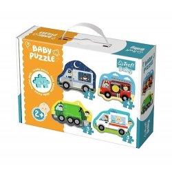 Puzzle baby Classic - Pojazdy i zawody