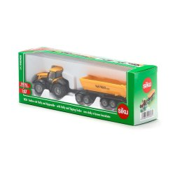 Siku Super: Seria 18 - Traktor z wózkiem i wywrotką 1858