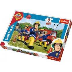Puzzle Maxi 24 el. Ugasić pożar - Strażak Sam