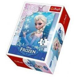 Puzzle mini 54 el. Kraina Lodu - Frozen 19500 (54141)