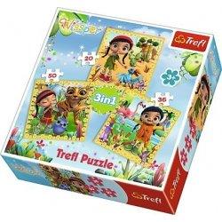 Puzzle 3w1 - Wspólne podróże