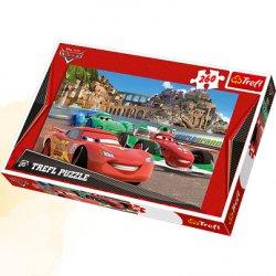 Puzzle 260 el. Auta w Porto Corso- Cars2