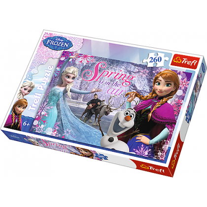 Puzzle 260 el. Miłość w Krainie Lodu - Frozen