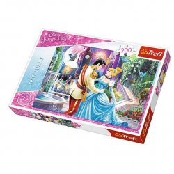 Puzzle 200 el. Taniec w świetle księżyca - Disney Princess