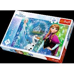 Puzzle 200 el. Moc sióstr - Frozen
