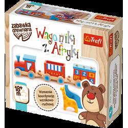 Drewniany pociąg, Wagoniki z Afryki 60643