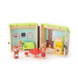 Drewniana Zdzisiowa chatka 60795