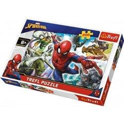 Puzzle 200 el. Urodzony bohater - Spiderman