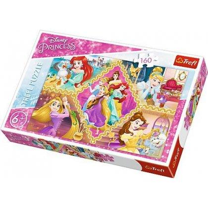Puzzle 160 el. Przygody księżniczek - Disney Princess