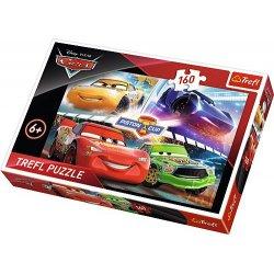 Puzzle 160 el. Zwycięski wyścig - Cars 3