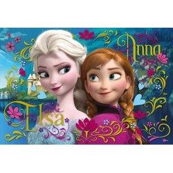 Puzzle 100 el. Anna i Elsa - Frozen