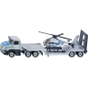Siku Super: Low Loader with helicopter 1614