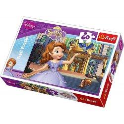 Puzzle 60 el. Przed pałacem - Disney