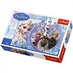 Puzzle 60 el. Przyjaciele z Krainy Lodu - Frozen