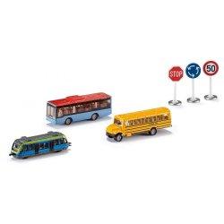 Siku Super: Zestaw podarunkowy - Transport miejski 6303