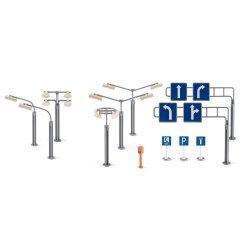Siku World: Akcesoria - znaki drogowe i latarnie 5594