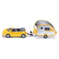 Siku Super: Samochód z przyczepą campingową 1629