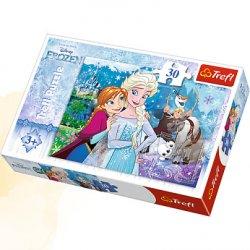 Puzzle 30 el. Uwolnij magię - Frozen