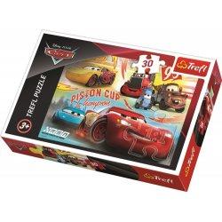 Puzzle 30 el. Zwycięska drużyna - Cars 3