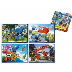 Puzzle 4w1 - Odlotowa paczka - Super Wings