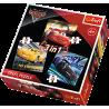 Puzzle 3w1 Legendy wyścigu - Cars 3