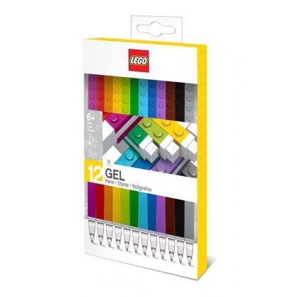 LEGO 51639 Długopisy żelowe 12 kolorów
