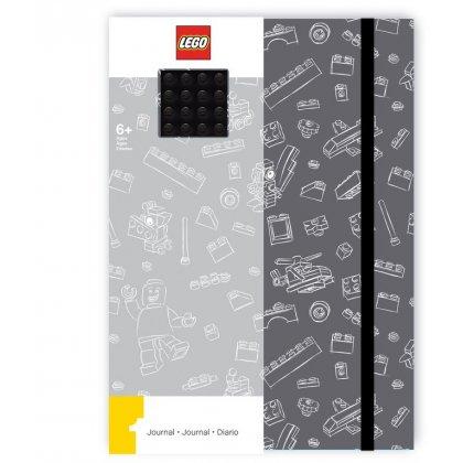 LEGO 51841 Notatnik szary z płytką LEGO