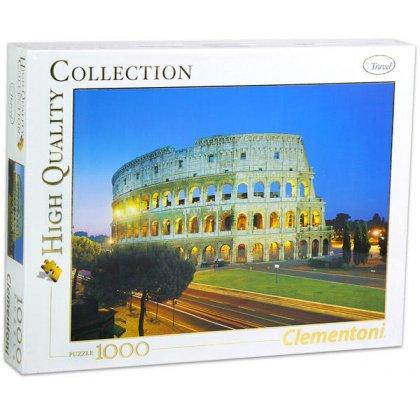 Puzzle 1000 el. HQ - Rzym: Koloseum