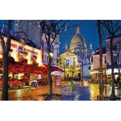 Puzzle 1500 el. HQ - Paryż, Montmartre