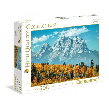 Puzzle 500 el. HQ - Grand Teton jesienią