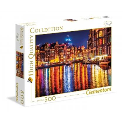 Puzzle 500 el. HQ - Amsterdam