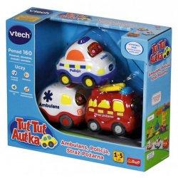 VTech TUT TUT AUTKA zestaw 3 pojazdów 60804