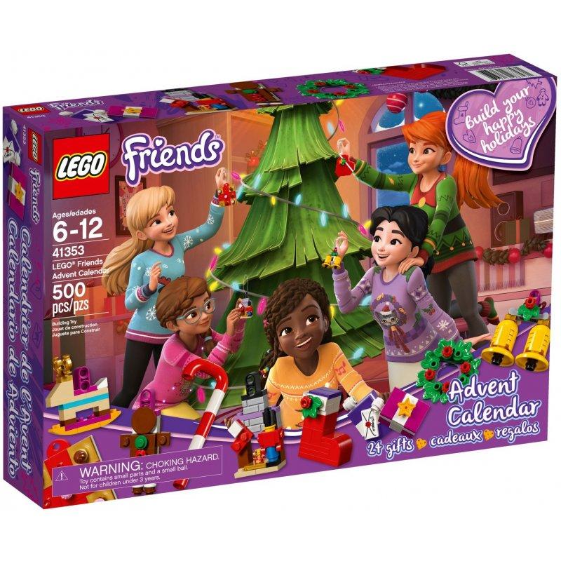Lego 41353 Kalendarz Adwentowy 2018 Klocki Lego Friends Mojeklocki24