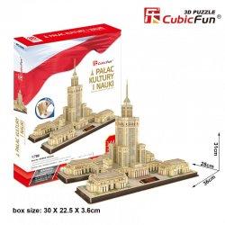 Puzzle 3D Pałac Kultury i Nauki - Zestaw XL